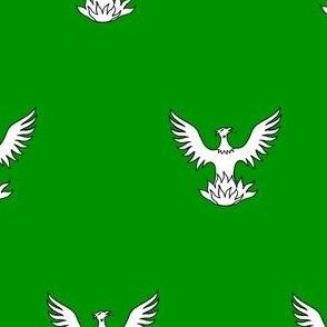 Vert, a Phoenix Argent