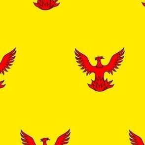 Or, a Phoenix Gules