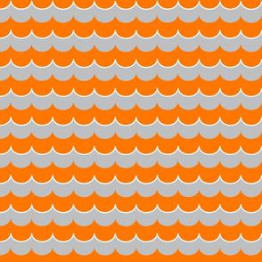 Nautical Coord- Scallops Orange 2