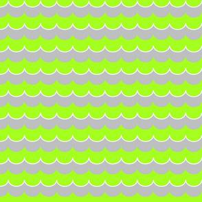 Nautical Coord- Scallops Green 2