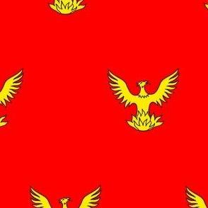 Gules, a Phoenix Or
