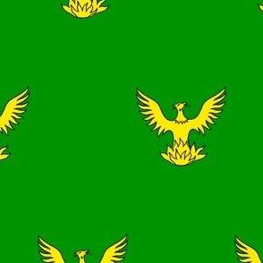 Vert, a Phoenix Or