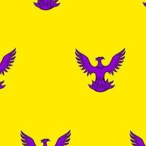 Or, a Phoenix Purpure