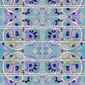 Blue Flower Twist