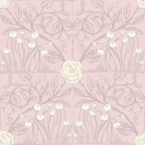 Fable Vintage Tile (sea shell pink)