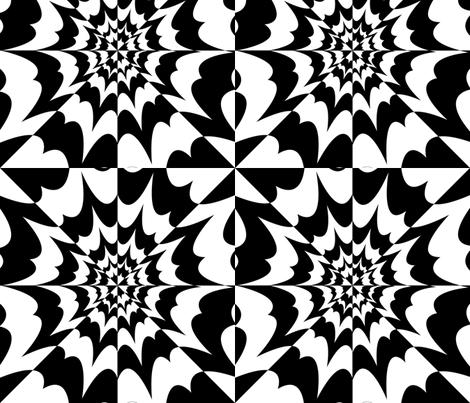 LovingTellingTheSunSecrets fabric by jackiereynolds on Spoonflower - custom fabric