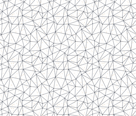 Polygonal pattern fabric by marinademidova on Spoonflower - custom fabric