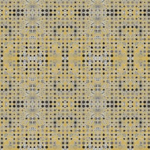 Dancing Dots and Spots of Grey on Desert Sand