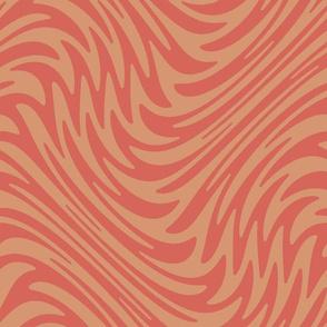 succulent swirl - warm pink