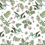 Hummingbird Garden // by Sweet Melody Designs