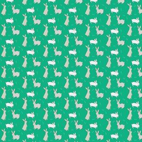 Bunny Rabbits and Carrots - Small