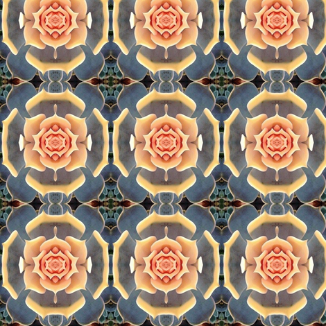 succulence 21 fabric by hypersphere on Spoonflower - custom fabric