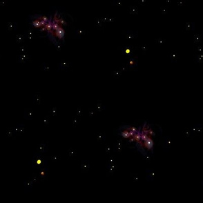 Simple Stars and Nebulas