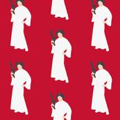 Princess Leia on Red