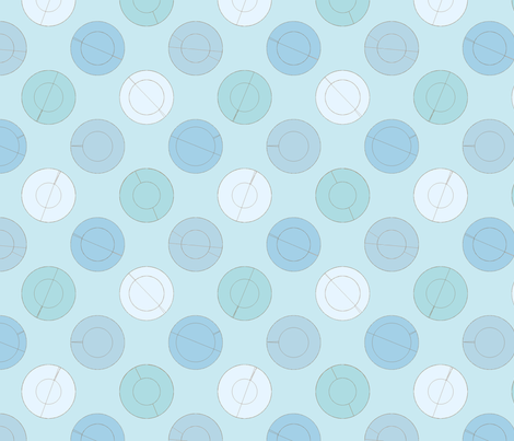 PerfectCircles fabric by kiwi_krafter on Spoonflower - custom fabric