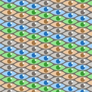 Cell Eyes - Natural Colors
