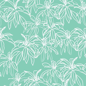 Minty Leaves