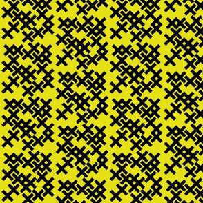 Badger Geometric (yellow)