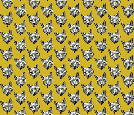 Buster fabric by napolicreates on Spoonflower - custom fabric