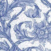 William_morris___single_stem___willow_ware_blue_and_white___peacoquette_designs___copyright_2017_shop_thumb