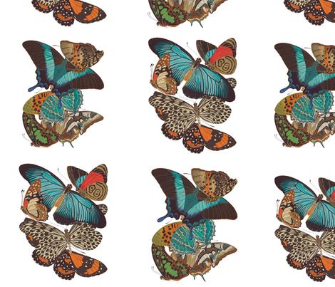 ButterfliesSpoonflower fabric by neilepi on Spoonflower - custom fabric