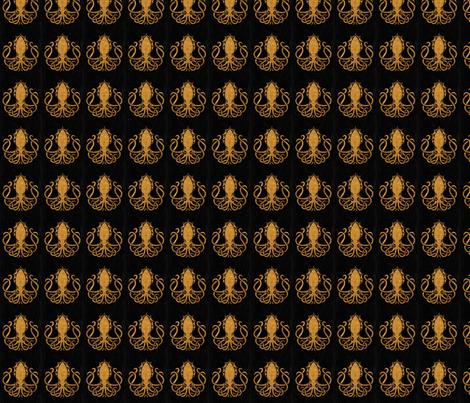 Kraken logo fabric by laura_desireéortiz on Spoonflower - custom fabric