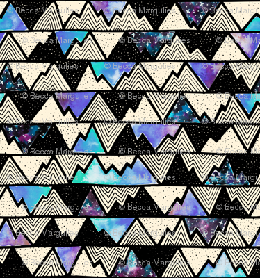 Cosmos – Mountains Blue