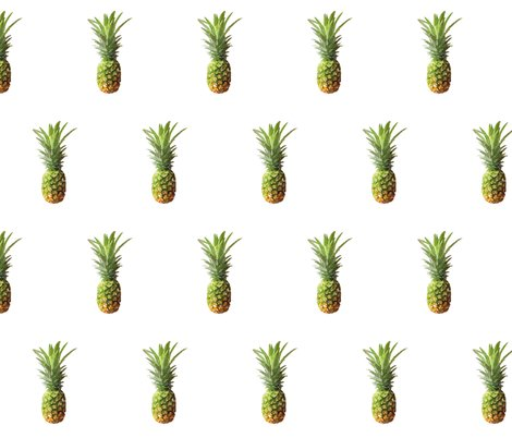 Pineapple_on_white_no_texture_shop_preview