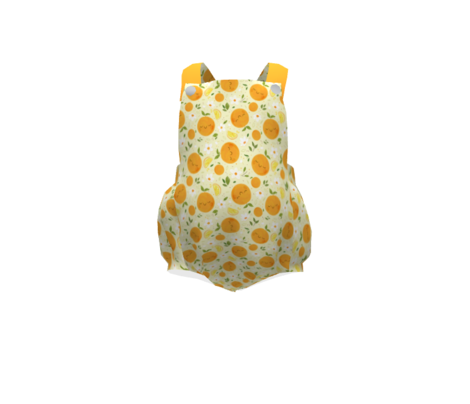 Orange Citrus Pattern