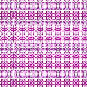 fuschia plaid