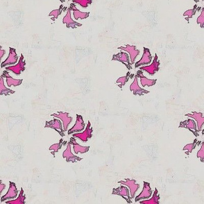 Tea Towel Flora (Pink)