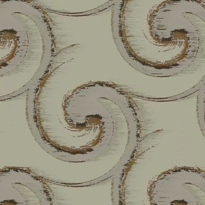 Paiseled Wave (Taupe)