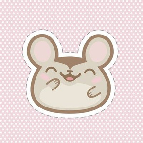 Applique_Mouse_on_Pink