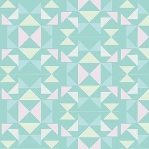 scandinavian mosaic mint