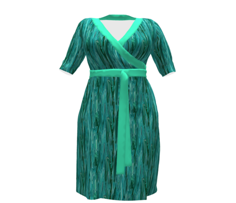 LCT -  Teal Green Pastel Solid, coordinate for Liquid Crystalline Teal designs