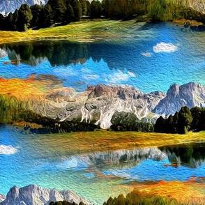 landscape - painting