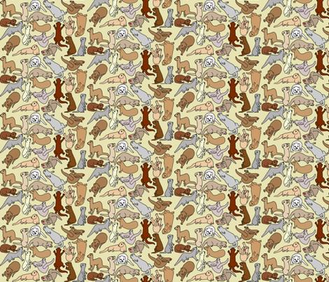 Calico_Beige fabric by deva_kolb on Spoonflower - custom fabric
