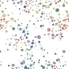 Polka Dots in Watercolor
