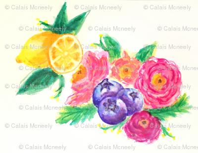 lemon-blueberry fields