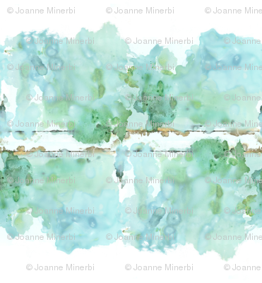 Watercolor Landscape Large