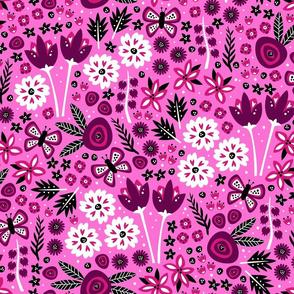 Spring Garden (Lt. Pink)