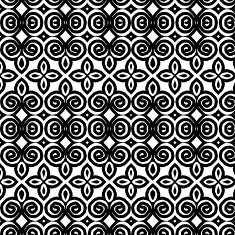 Filigree Garden  fabric by franbail on Spoonflower - custom fabric