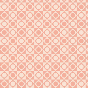 Peach geometric repeat