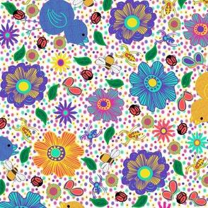 Birds, Blossoms and Garden Buddies (small)