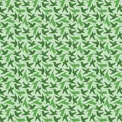 Hummingbird Repeat (green)