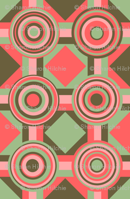 Green and Pink Shapes