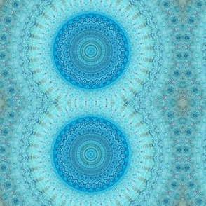 blue water circle