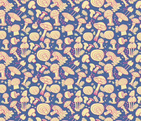 Morty and Perry mix it up! fabric by owen_and_olive on Spoonflower - custom fabric