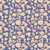 Rmushroom_leaves_5_8x8_pink_on_peri_shop_thumb