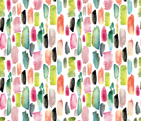 abstract fabric holaholga spoonflower